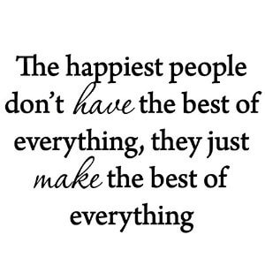 Palmetto Counseling - thought of the day on the happiest people